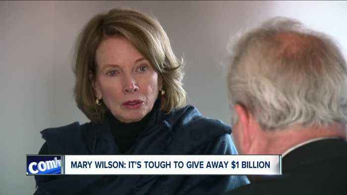 Mary Wilson says it tough trying to give away $1 Billion