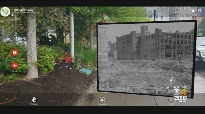 Augmented Reality Is The Latest Project On The Greenway