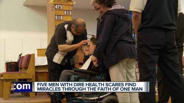 5 guys and a faith healer: After dismal diagnoses, they believe in miracles