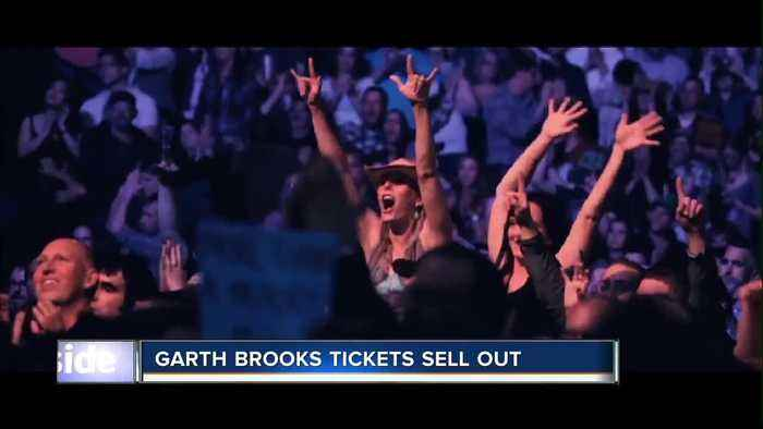 Garth Brooks tickets SELL OUT in just under an hour