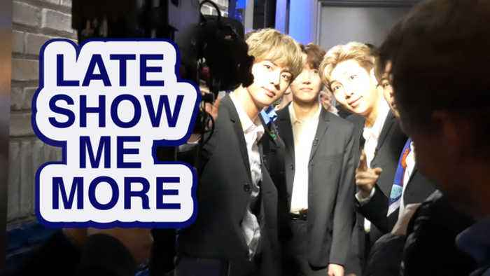 LATE SHOW ME MORE: BTS & THE BIG BANG THEORY