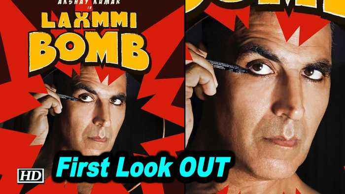 Akshay applies Kajal in 'Laxmmi Bomb' poster | First Look OUT