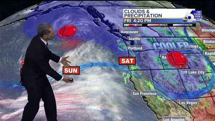 Scott Dorval's Friday On Your Side Forecast