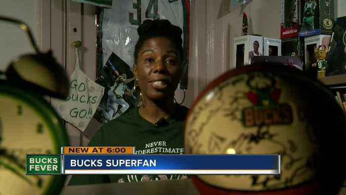 Meet Dannette Justus, Milwaukee Bucks superfan