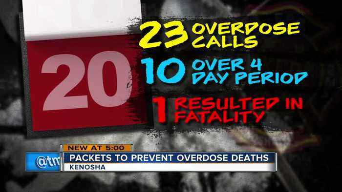 'Every second is precious': 23 people overdose in Kenosha in three-week period