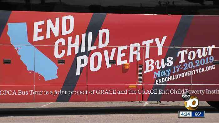 'End Child Poverty' bus tour kicks off from South Bay