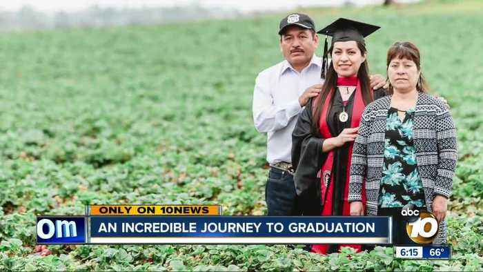 Incredible journey to graduation