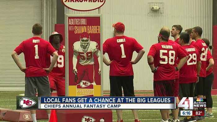 Chiefs Fantasy Camp participants learn from legendary former players