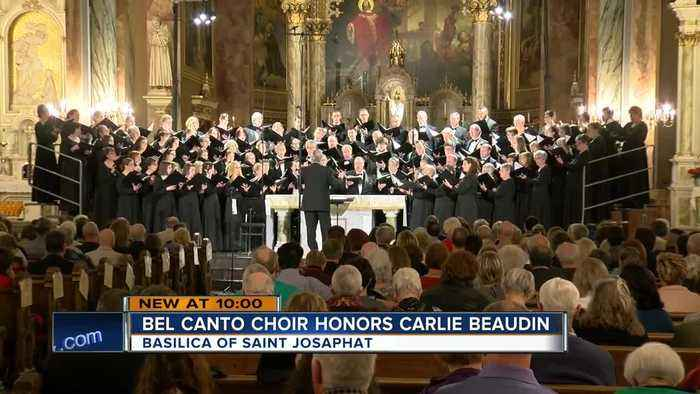 Bel Canto Chorus pays tribute to Carlie Beaudin with a song