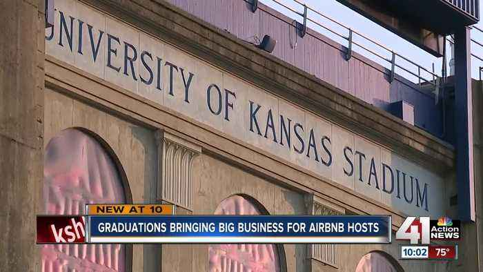 KU graduation brings big Airbnb business to Lawrence