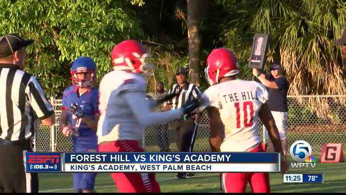 Forest Hill vs King's Academy Football