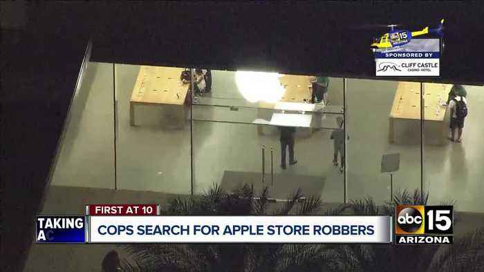 Police investigating armed robbery at Scottsdale Apple store