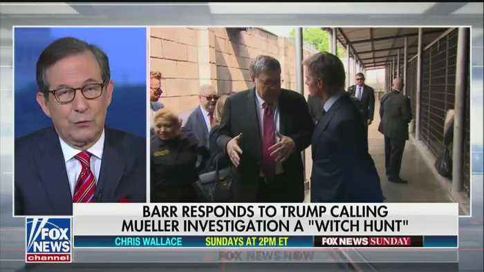 Chris Wallace on Attorney General Barr: he is 'clearly protecting the president'