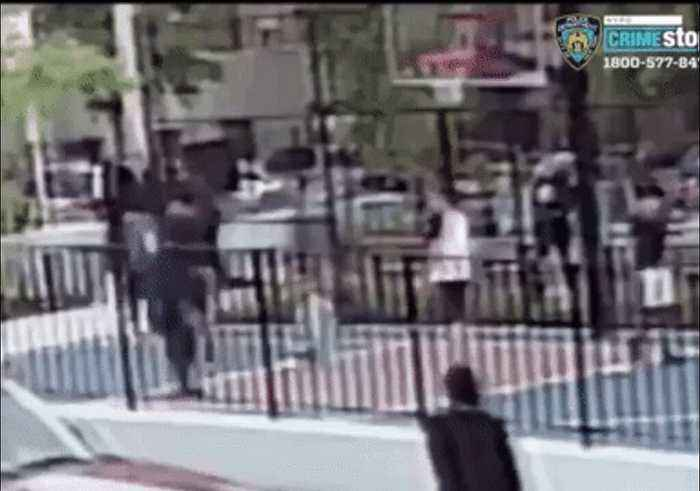 Suspect Shoots at New York City Playground Injuring Man and Boy