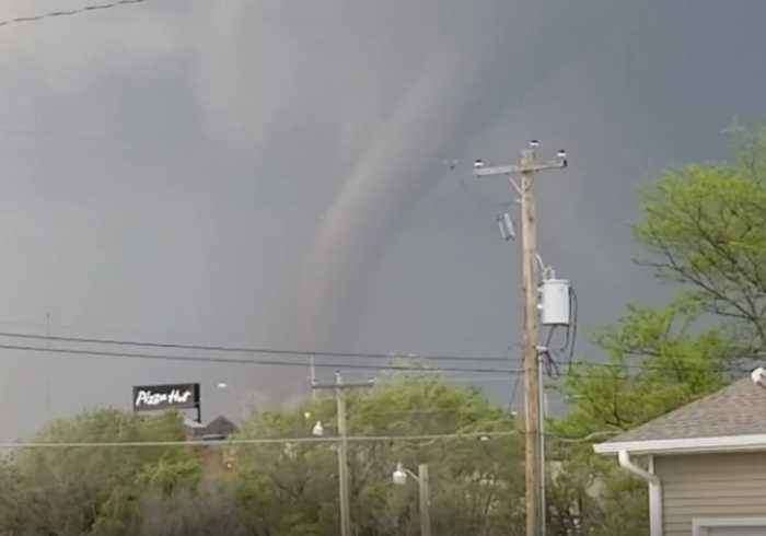 Suspected Tornado Spotted in Nebraska's Red Willow County