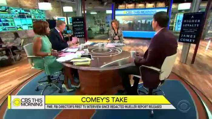 James Comey comments on the Mueller report