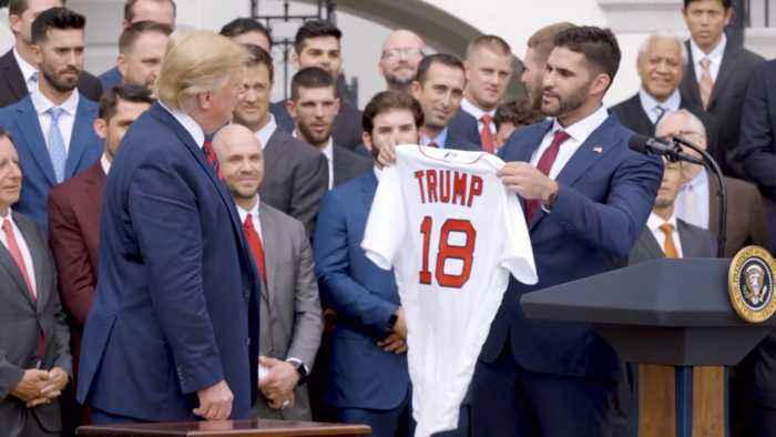 The Boston Red Sox And President Trump