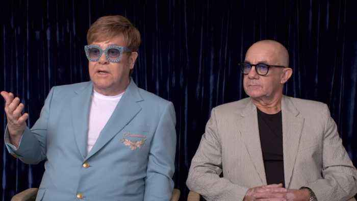 Elton John And Bernie Taupin Discuss 'Rocketman' In Cannes