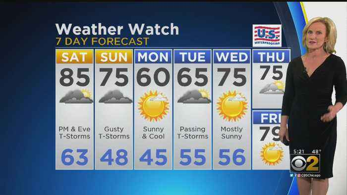 CBS 2 Weather Watch (5 P.M. May 17, 2019)