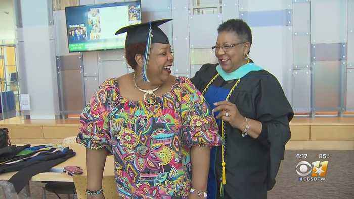 University Of North Texas Dallas Mother-Daughter Duo Share Joy And Degrees