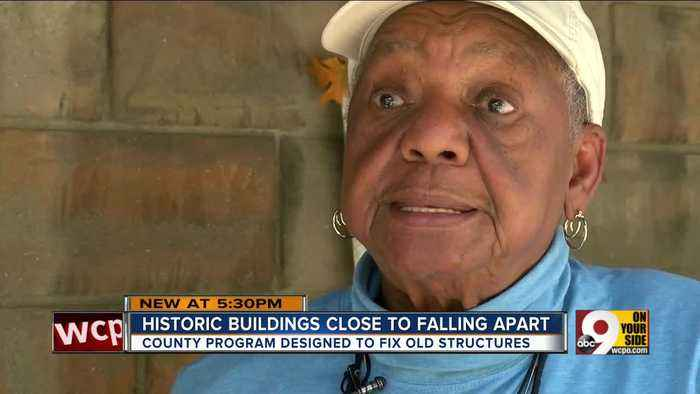 Historic West End buildings close to falling apart