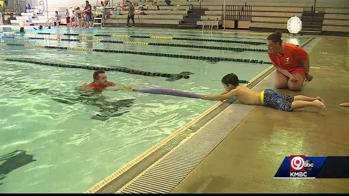 YMCA's Learn to Swim program teaches kids what to do in emergency
