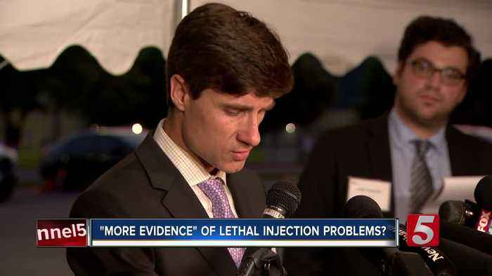 """Nashville attorney: Thursday's execution gives """"more evidence"""" of lethal injection problems"""