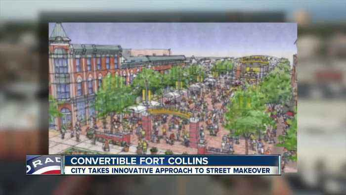 Fort Collins taking innovative approach for 'convertible' downtown