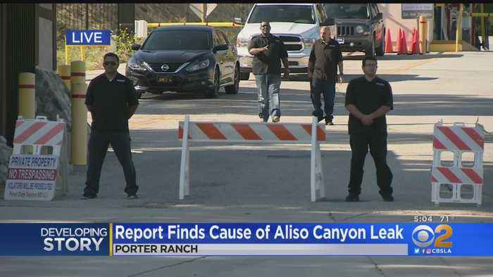Ruptured Well Casing, Failed Safety Practices To Blame For Aliso Canyon Methane Leak, Report Finds