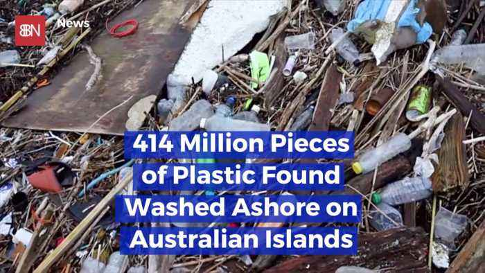These Australian Islands Are Covered In Plastics