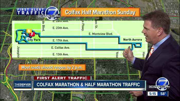 How to avoid traffic problems during the Colfax Marathon