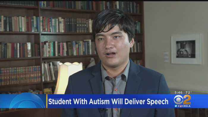 Student With Autism To Give Commencement Speech