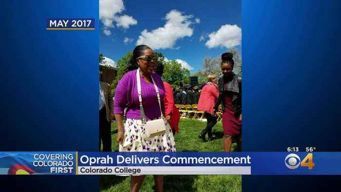 Oprah Winfrey Will Deliver Commencement For Colorado College