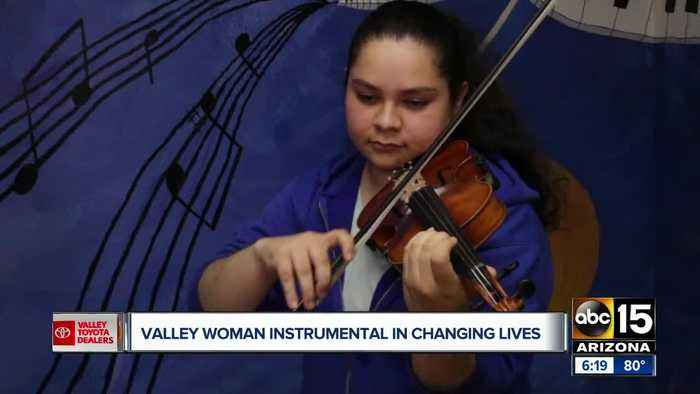 Nick's Heroes: Desert Sounds founder helps kids through music