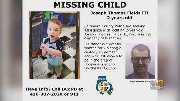 Baltimore County Police Looking For Missing 2-Year-Old Boy