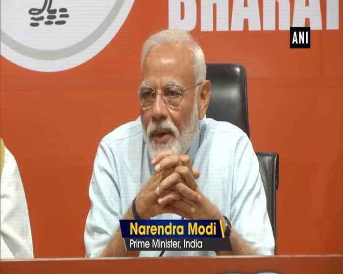 Our govt will come to power with absolute majority PM Modi at press conference