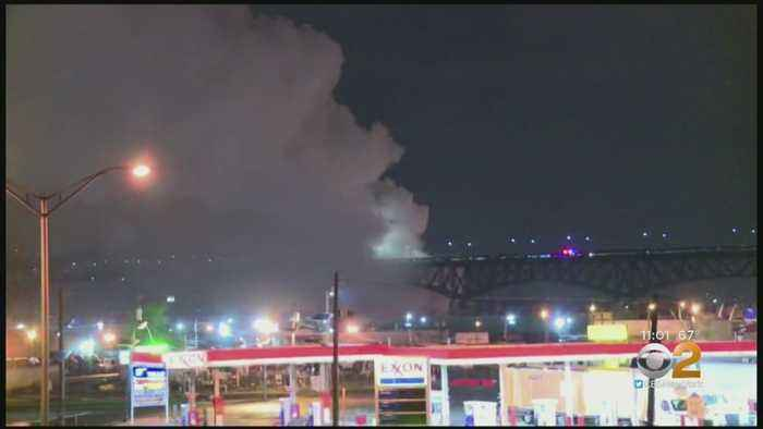 Chlorine Plant Fire In New Jersey