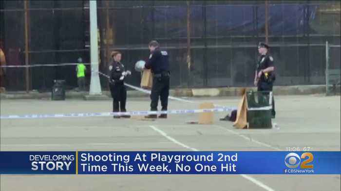 Playground Shooting In Queens