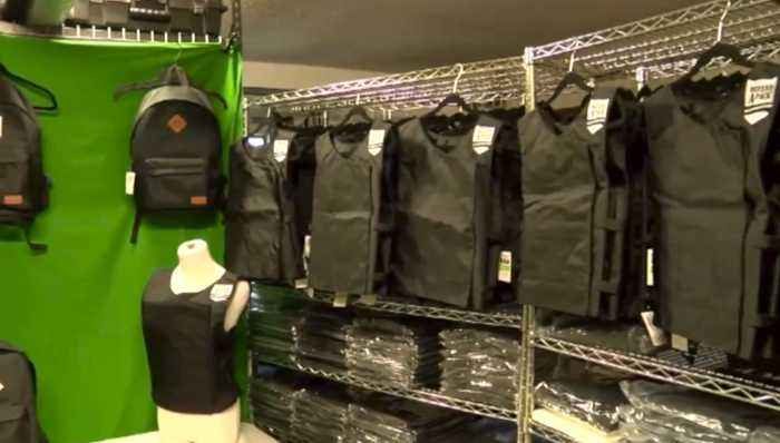 Larry James: Wellington father creates bulletproof backpack for daughter to take to school, hopes to keep students safe