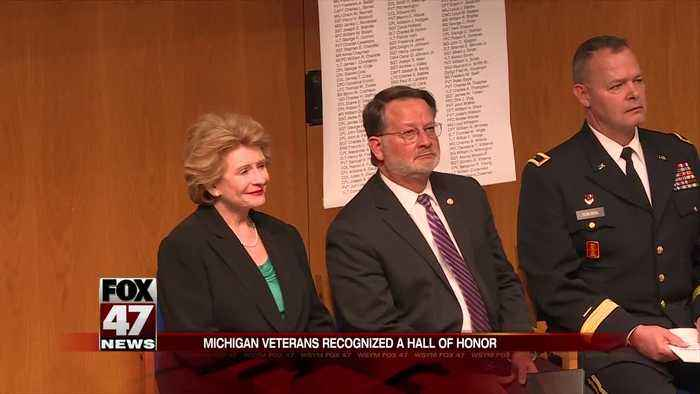 Stabenow keynotes Hall of Honor ceremony and addresses Rotary Club in Lansing