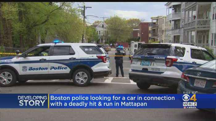 Police Looking For Car In Connection With Fatal Mattapan Hit-And-Run