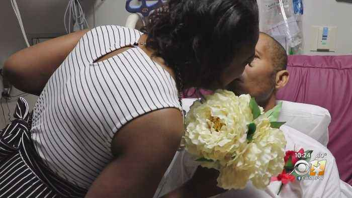 Cancer Patient Marries Long-Time Love Of His Life In North Texas Hospital Room