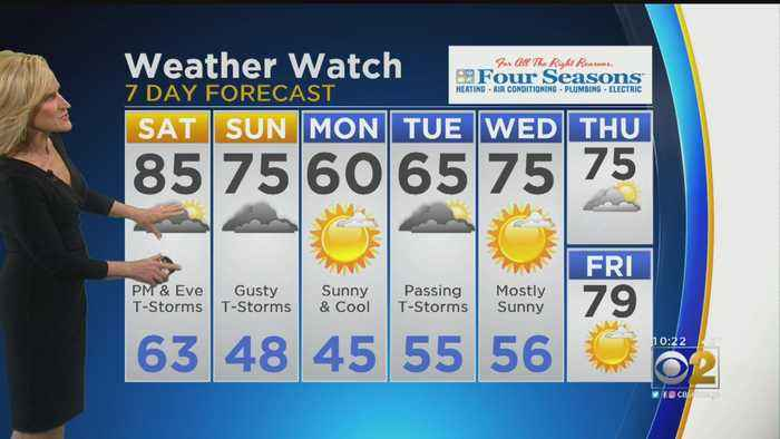 CBS 2 Weather Watch (10 P.M. May 17, 2019)