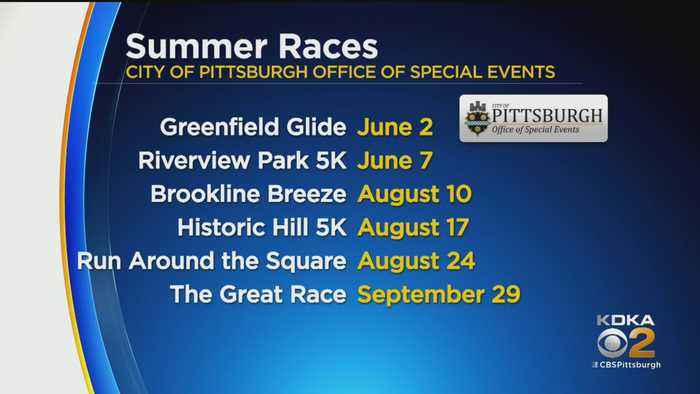 City Of Pittsburgh Announces 2019 Footrace Schedule
