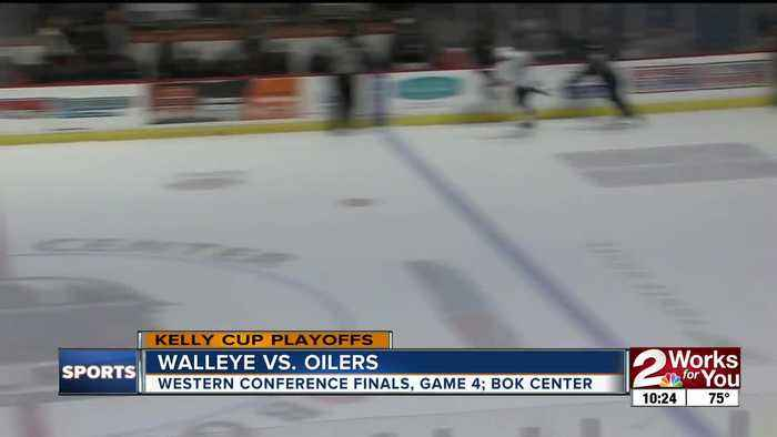 Tulsa Oilers defeat Toledo in overtime to even ECHL Western Conference Finals 2-2