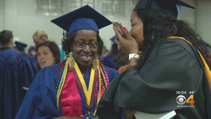 After Serious Car Crash, Woman Earns College Degree
