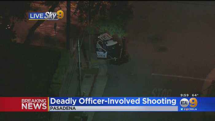 Suspect Fatally Wounded In Officer-Involved Shooting In Pasadena