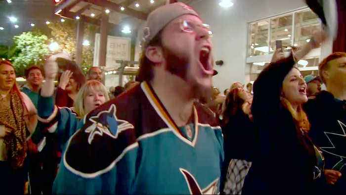 Sharks Super Fans Undaunted by Friday Loss to Blues