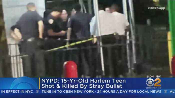 Police: 15-Year-Old Harlem Boy Killed By Stray Bullet