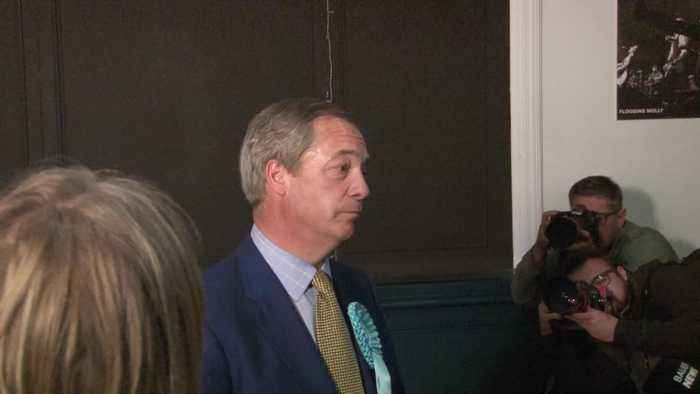 Nigel Farage says funding from Arron Banks was purely 'personal' matter